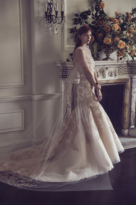 Joanna Wedding                                          dress by Monique Lhuillier