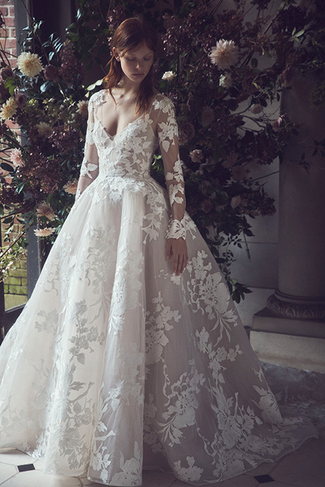 Maeve Wedding                                          dress by Monique Lhuillier
