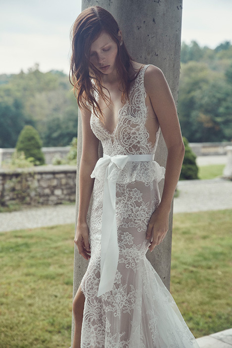 Regina Wedding                                          dress by Monique Lhuillier