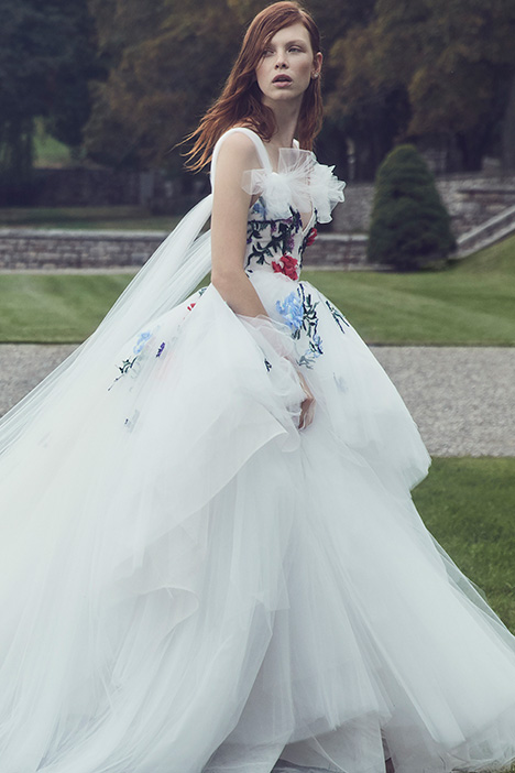 Westwood Wedding                                          dress by Monique Lhuillier