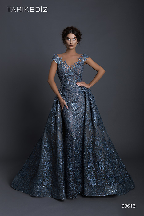 93613 (+ overskirt) Prom dress by Tarik Ediz: Evening Dress