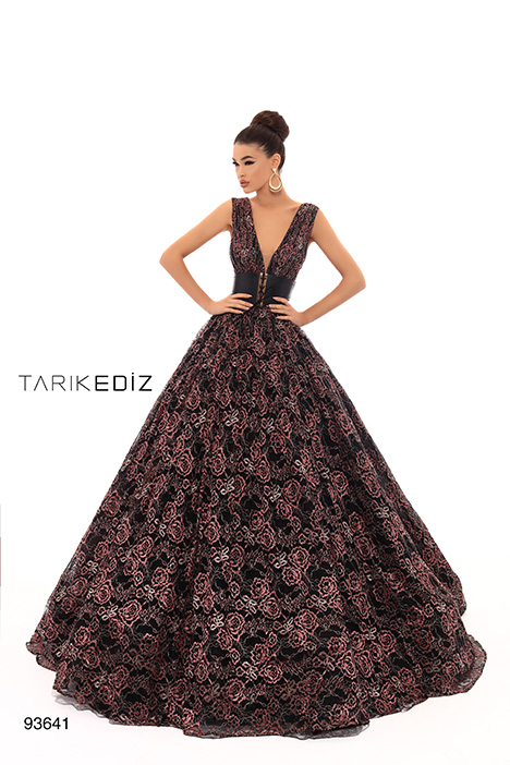 93641 Prom                                             dress by Tarik Ediz: Evening Dress
