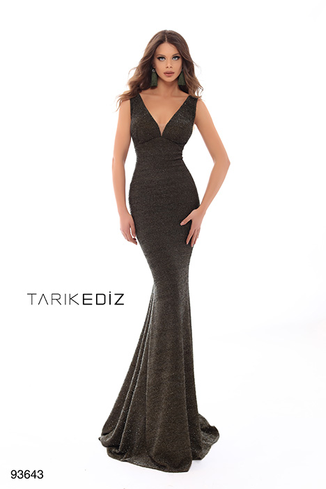 93643 Prom                                             dress by Tarik Ediz: Evening Dress