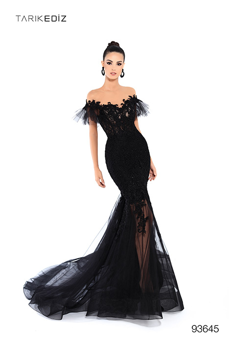 93645 Prom                                             dress by Tarik Ediz: Evening Dress