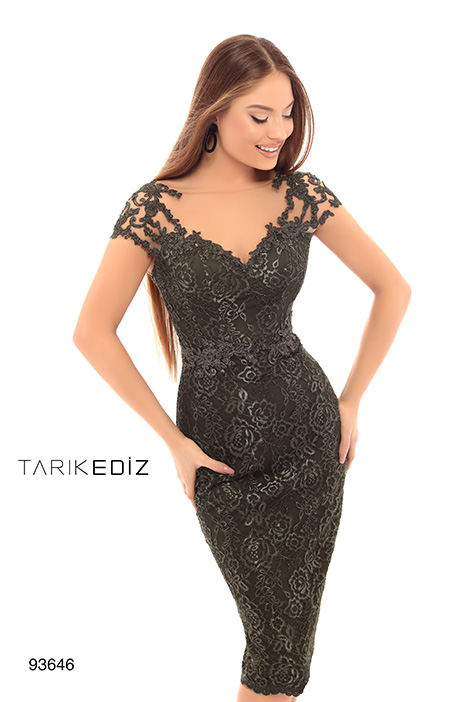 93646 Prom                                             dress by Tarik Ediz: Evening Dress