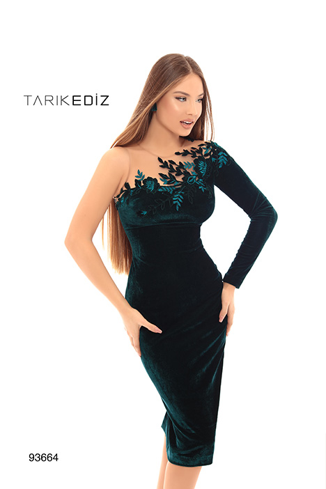 93664 Prom                                             dress by Tarik Ediz: Evening Dress
