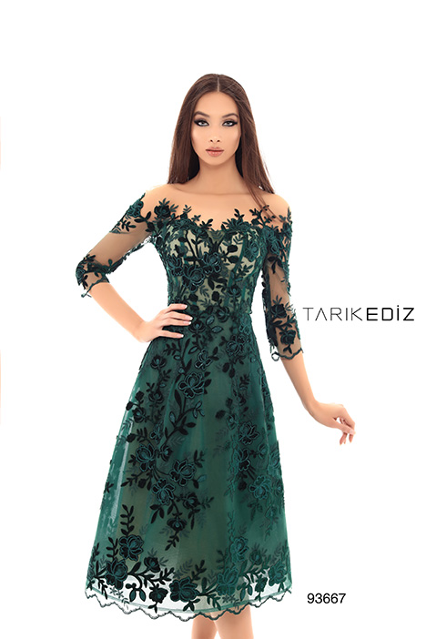 93667 Prom                                             dress by Tarik Ediz: Evening Dress
