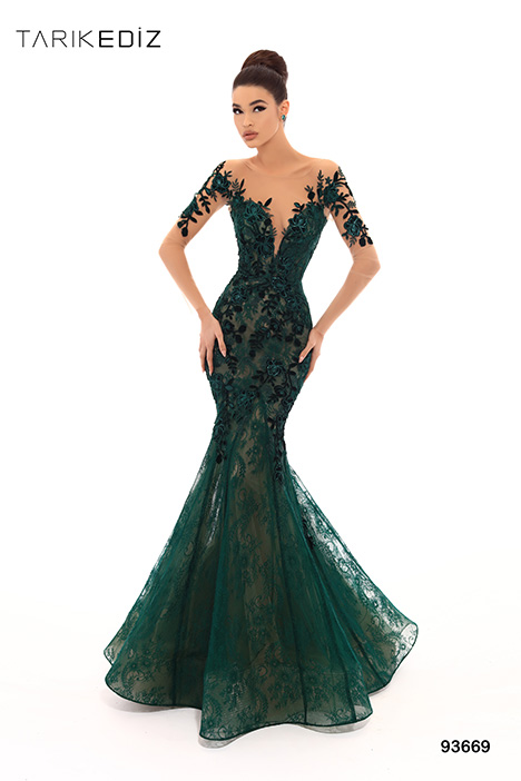93669b Prom                                             dress by Tarik Ediz: Evening Dress