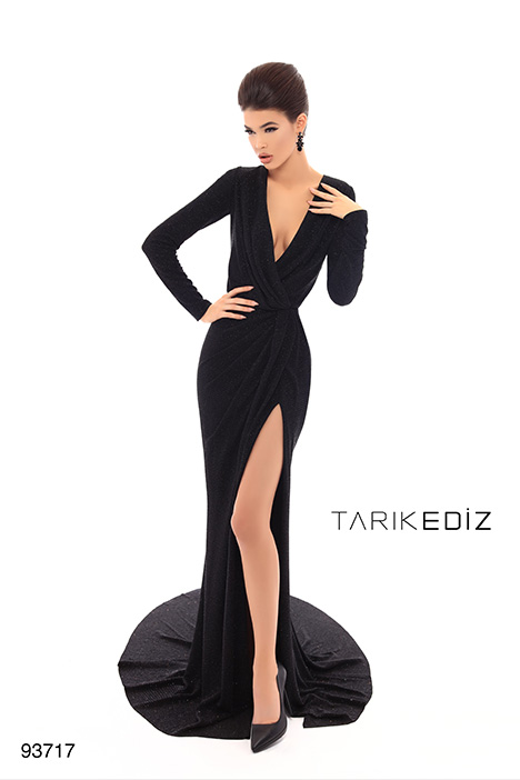 93717 gown from the 2019 Tarik Ediz: Evening Dress collection, as seen on dressfinder.ca