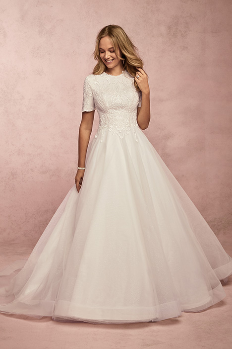 Ardelle Leigh Wedding                                          dress by Rebecca Ingram