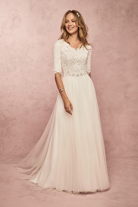 Connie Leigh Wedding                                          dress by Rebecca Ingram