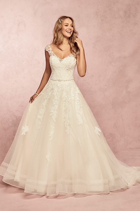 Macey Wedding                                          dress by Rebecca Ingram