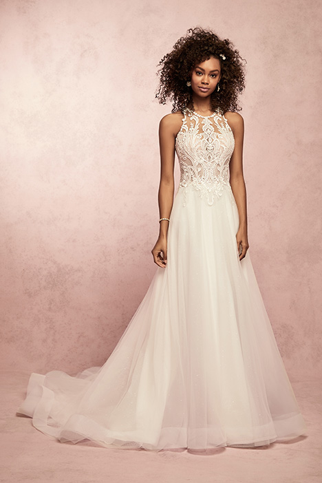 Ardelle Wedding                                          dress by Rebecca Ingram