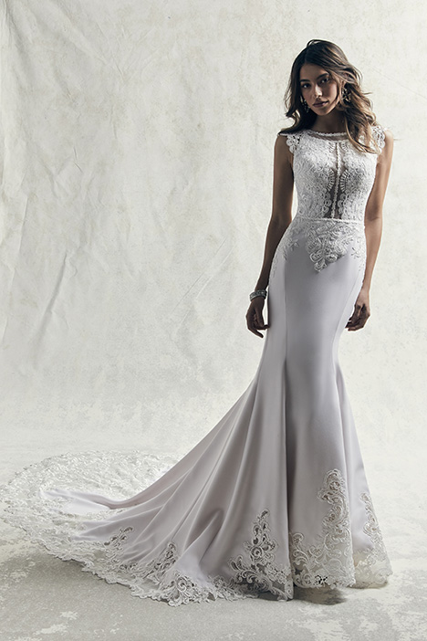 Jasper Wedding                                          dress by Sottero and Midgley
