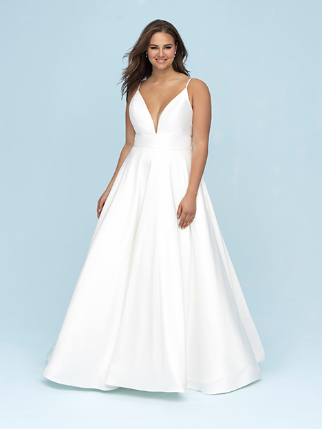 9620 + Wedding                                          dress by Allure Bridals