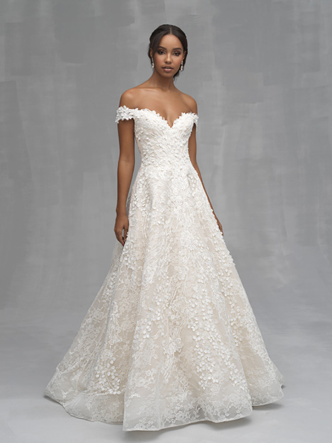 C520 Wedding                                          dress by Allure Couture