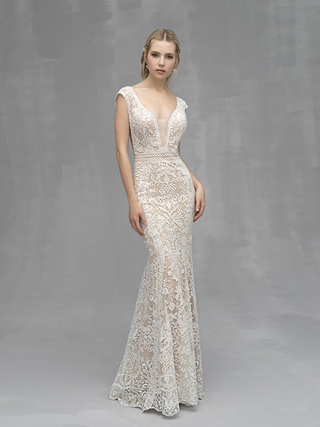 C523 Wedding                                          dress by Allure Couture