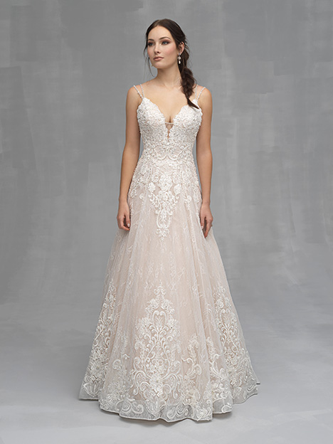 C524 Wedding                                          dress by Allure Couture