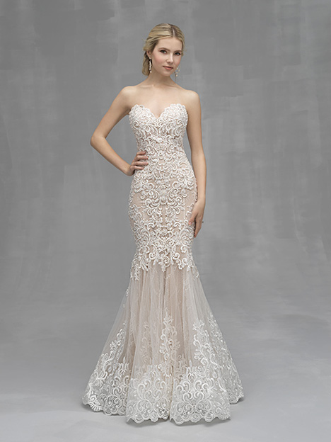 C526 Wedding                                          dress by Allure Couture