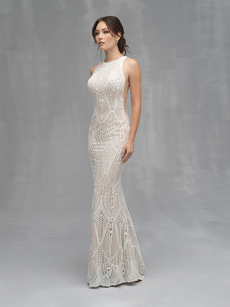 C527 Wedding                                          dress by Allure Couture