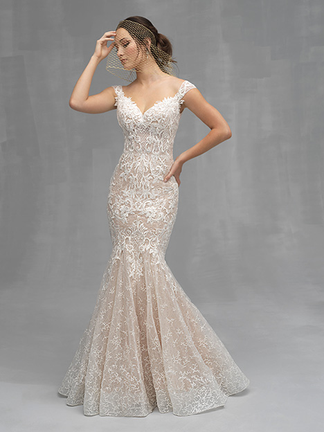 C529 Wedding                                          dress by Allure Couture