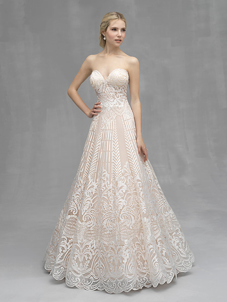 C531 Wedding                                          dress by Allure Couture