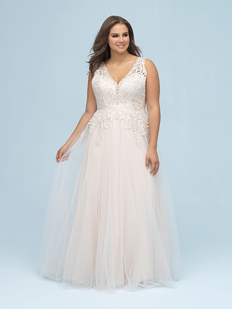 W440 Wedding                                          dress by Allure Women