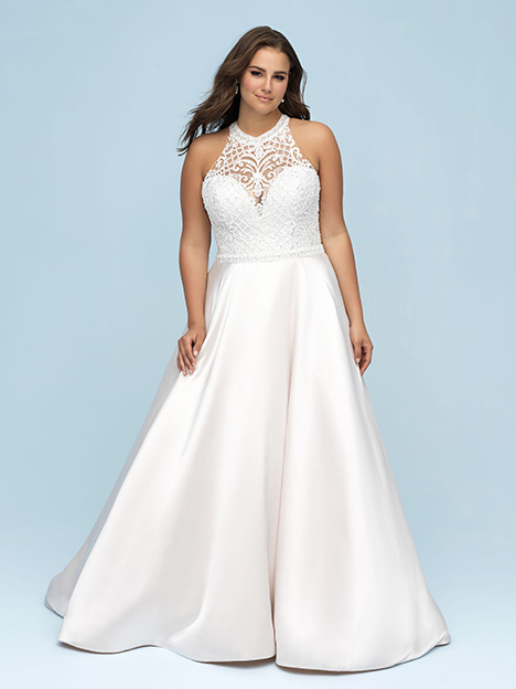 W442 Wedding                                          dress by Allure Women