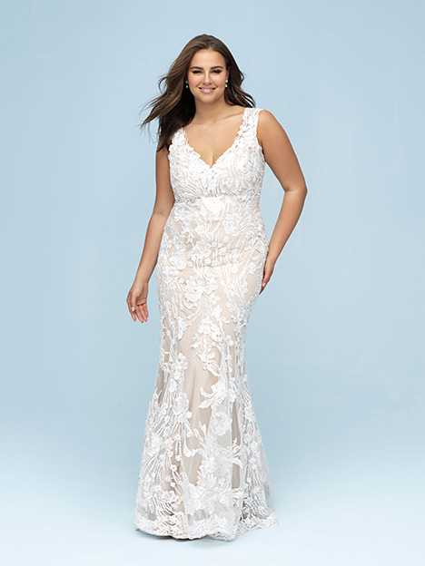 W443 Wedding                                          dress by Allure Women