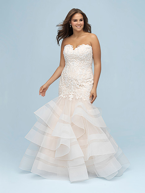 W444 Wedding                                          dress by Allure Women