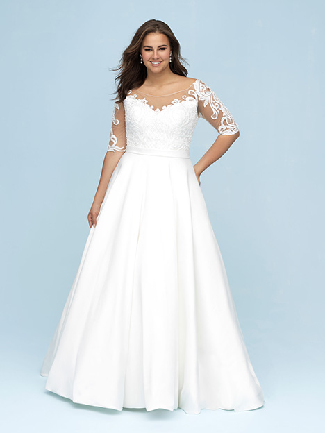 W445 Wedding                                          dress by Allure Women