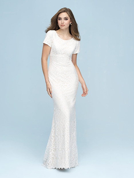 M610 Wedding                                          dress by Allure Modest