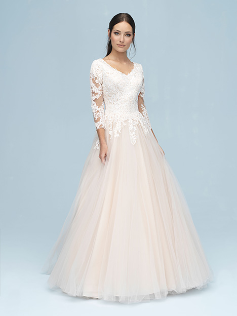 M611 Wedding                                          dress by Allure Modest