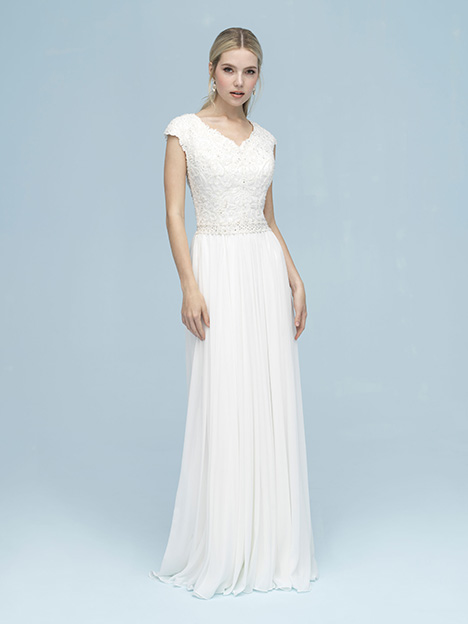 M613 Wedding                                          dress by Allure Modest