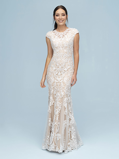 M614 Wedding                                          dress by Allure Modest