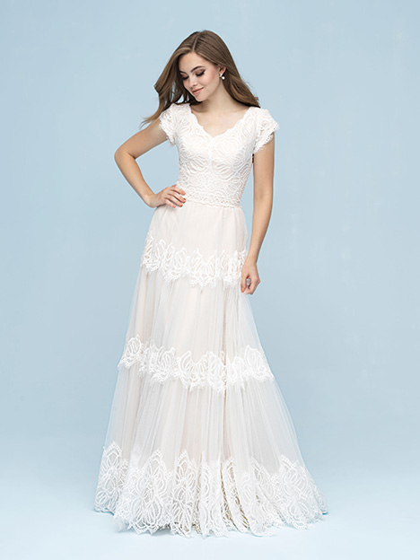 M617 Wedding                                          dress by Allure Modest