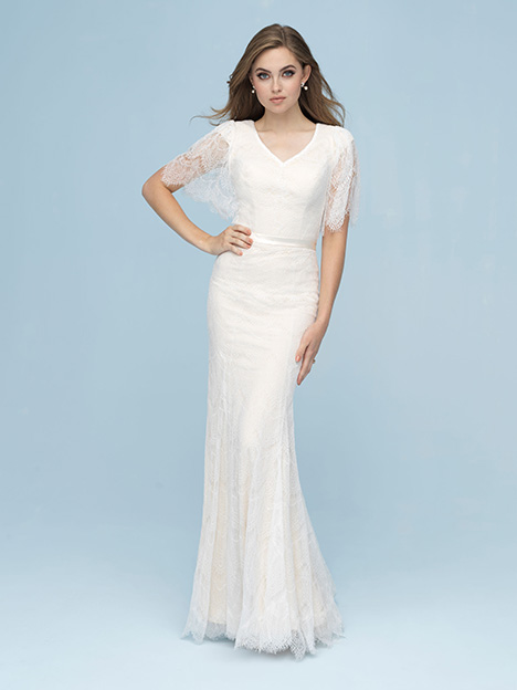 M618 Wedding                                          dress by Allure Modest