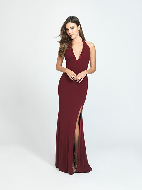 Style 19-140 gown from the 2019 Madison James Special Occasion collection, as seen on dressfinder.ca