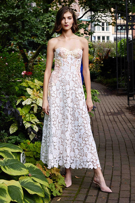 The Beaufort Wedding                                          dress by Lela Rose