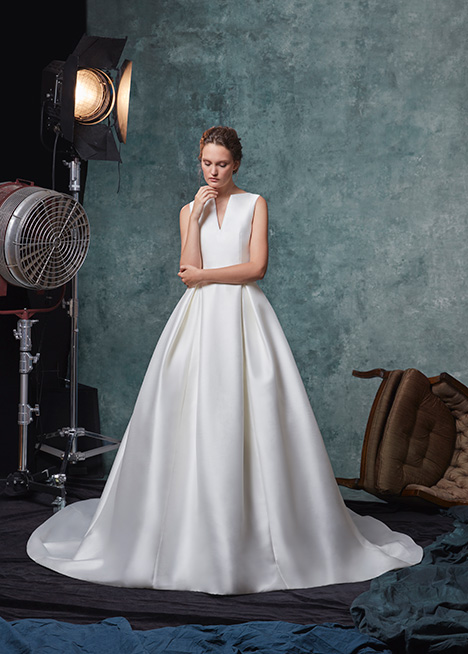 Blake Wedding                                          dress by Sareh Nouri