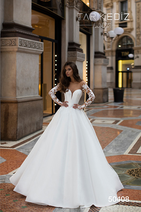 50408 Wedding                                          dress by Tarik Ediz: White