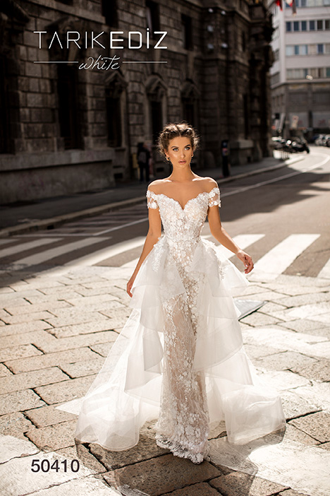 50410 Wedding                                          dress by Tarik Ediz: White