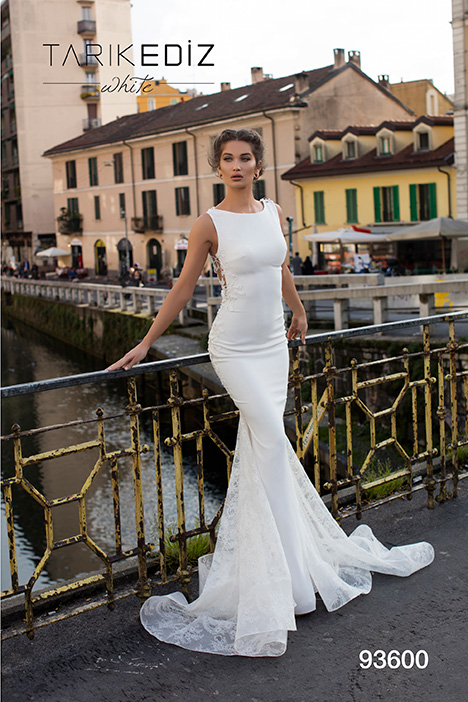 93600 Wedding                                          dress by Tarik Ediz: White