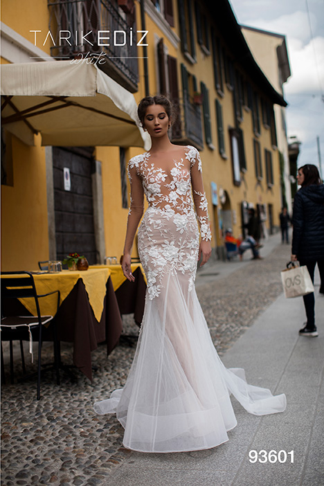 93601 Wedding                                          dress by Tarik Ediz: White