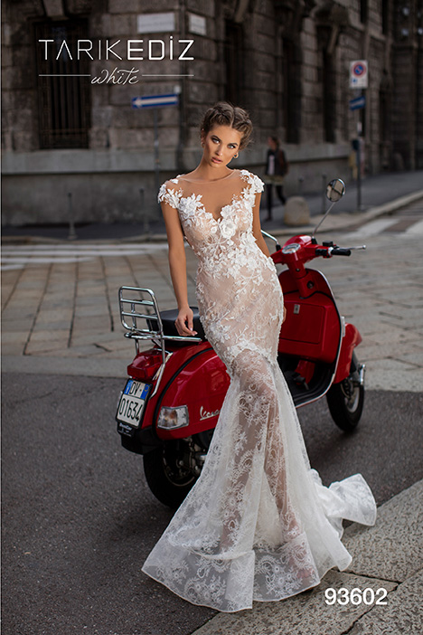 93602 Wedding                                          dress by Tarik Ediz: White