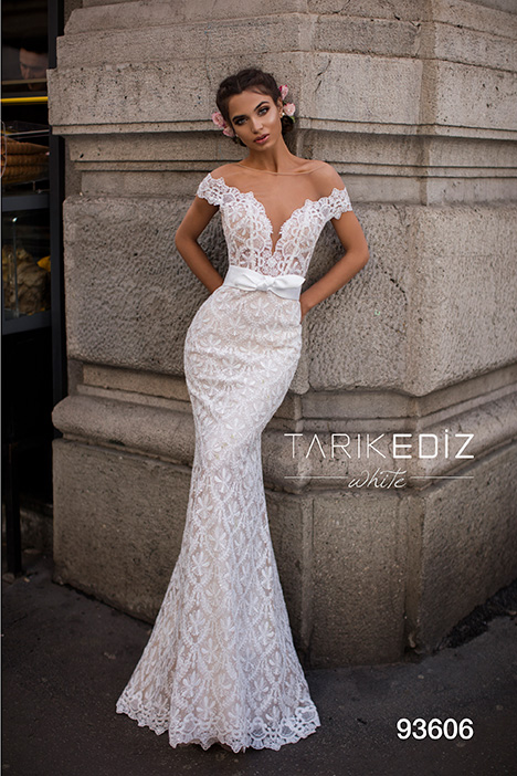 93606 Wedding                                          dress by Tarik Ediz: White