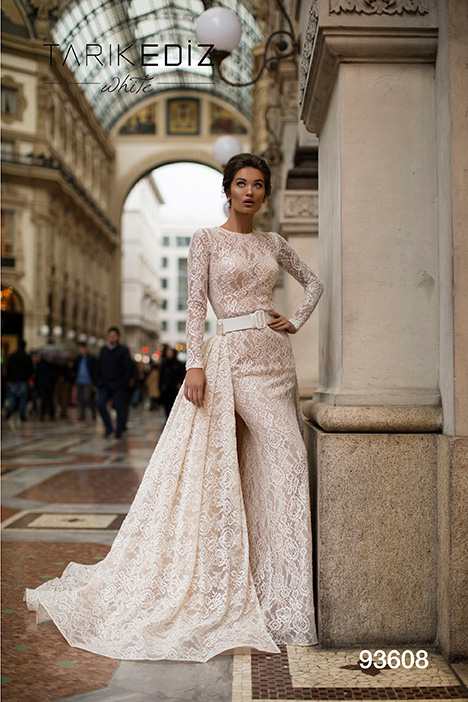 93608 Wedding                                          dress by Tarik Ediz: White