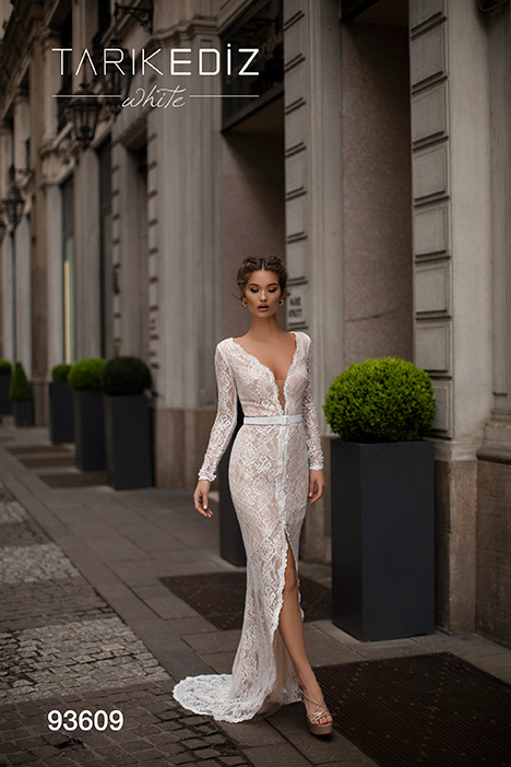 93609 Wedding                                          dress by Tarik Ediz: White