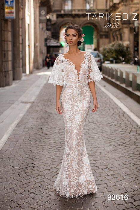 93616 Wedding                                          dress by Tarik Ediz: White