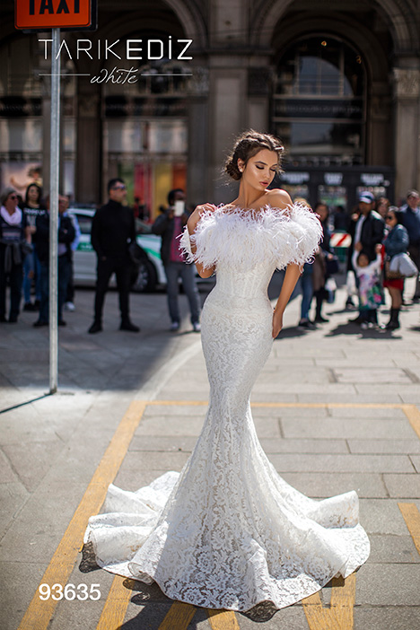 93635 Wedding                                          dress by Tarik Ediz: White